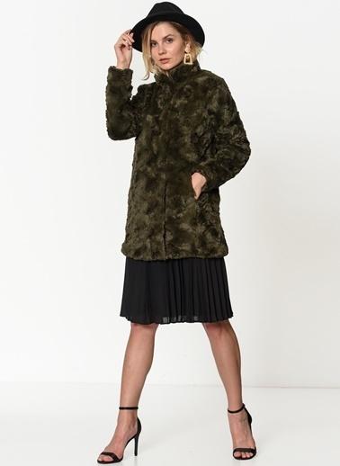 Vero Moda Peluş Mont Siyah